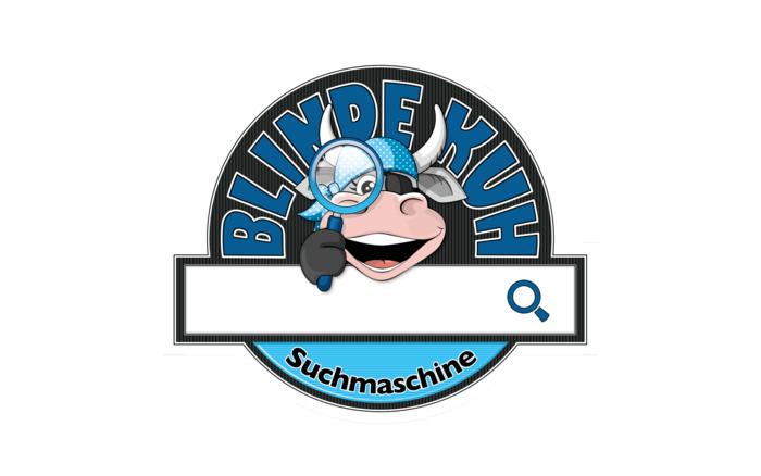 Logo zur Suchmaschine Blinde Kuh