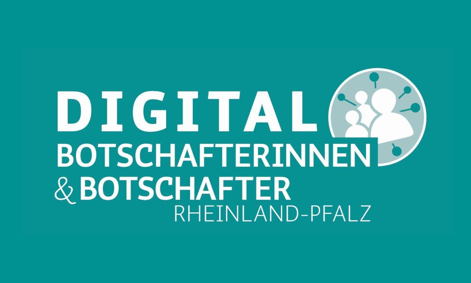 Logo der Digitalbotschafterinnen und Digitalbotschafter in Rheinland-Pfalz