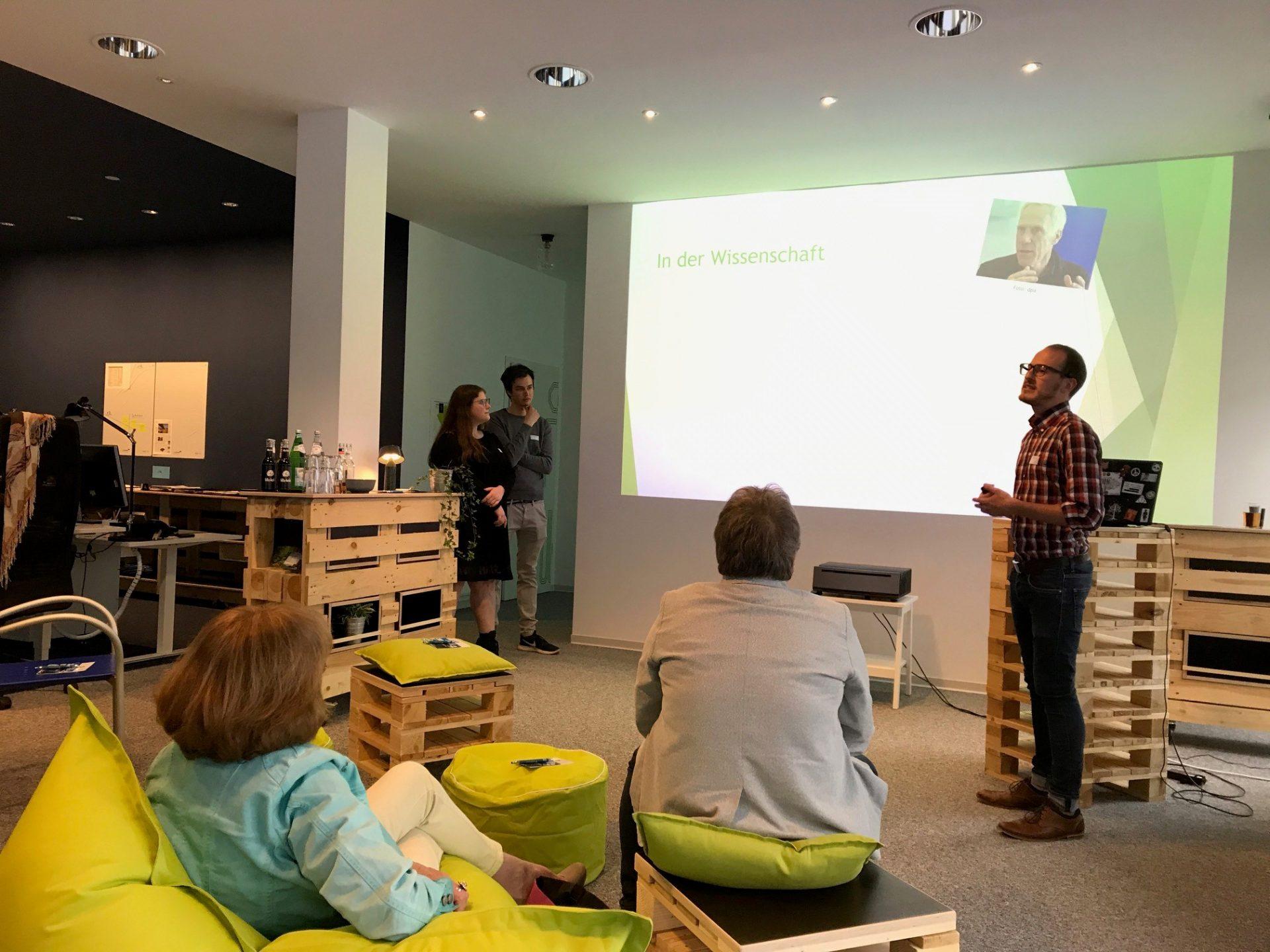 Vortrag über eSport bei KL.digitall