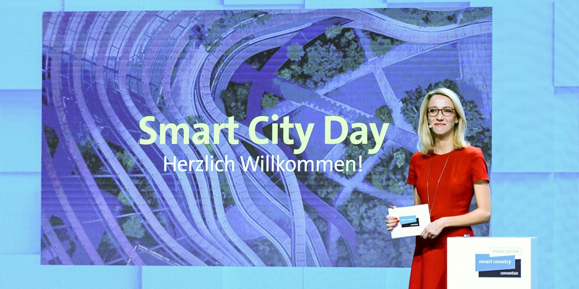 Start des Smart Country Day auf der SCCON20