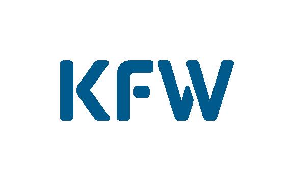 Logo der KfW (Kreditanstalt für Wiederaufbau)